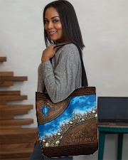 Turtle Sea Salty Lil' Beach All-over Tote aos-all-over-tote-lifestyle-front-08