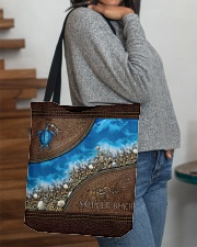 Turtle Sea Salty Lil' Beach All-over Tote aos-all-over-tote-lifestyle-front-09
