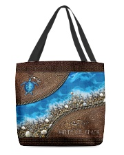 Turtle Sea Salty Lil' Beach All-over Tote back