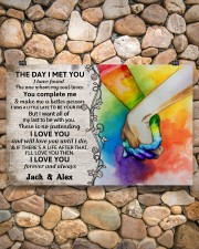 Custom LGBT The Day I Met You Personalized Name 17x11 Poster aos-poster-landscape-17x11-lifestyle-15