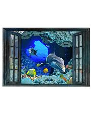 Dolphin To The Ocean I Go 17x11 Poster front