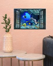 Dolphin To The Ocean I Go 17x11 Poster poster-landscape-17x11-lifestyle-21