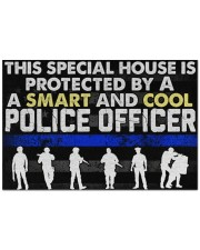 """Police This Special House Is Protected By A Police Doormat 22.5"""" x 15""""  front"""