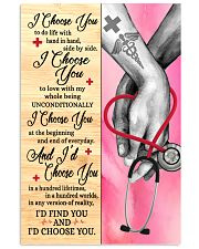 Nurse I Choose You 11x17 Poster front