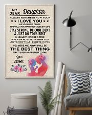 My Dear Daughter Poster 11x17 Poster lifestyle-poster-1