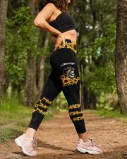 Skull Mom Life Dark Legging High Waist Leggings aos-high-waist-leggings-lifestyle-20