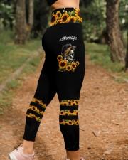 Skull Mom Life Dark Legging High Waist Leggings aos-high-waist-leggings-lifestyle-21
