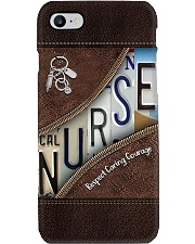 Nurse Respect Caring Courage Leather Pattern Phone Case thumbnail