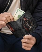 Skull Tattered Flag Men's Leather Wallet aos-men-leather-wallet-lifestyle-front-11