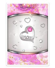 Pink Mom Heart Sticker - Single (Vertical) thumbnail