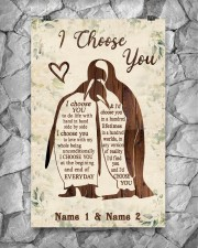 Custom Penguin I Choose You Personalized Name 11x17 Poster aos-poster-portrait-11x17-lifestyle-13