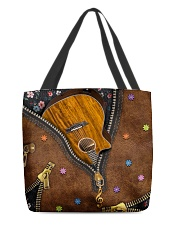 Guitar Music Lover All-over Tote back
