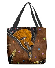 Guitar Music Lover All-over Tote front