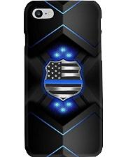 Police Badge Blue Phone Case i-phone-8-case