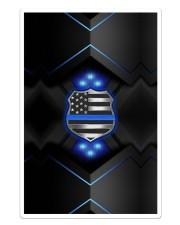 Police Badge Blue Sticker - Single (Vertical) thumbnail