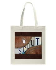 Girl Scouts Intelligence Compassion Courage Tote Bag thumbnail