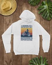 School-Is-Important-But-Motocross-Is-Importanter Hooded Sweatshirt lifestyle-unisex-hoodie-front-7