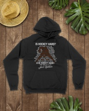 Is-hockey-hard Hooded Sweatshirt lifestyle-unisex-hoodie-front-7