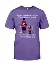 Hockey-Behind-Hockey-Player-Believes-In-Himself Premium Fit Mens Tee tile