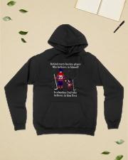 Hockey-Behind-Hockey-Player-Believes-In-Himself Hooded Sweatshirt lifestyle-unisex-hoodie-front-6