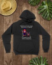 Hockey-Behind-Hockey-Player-Believes-In-Himself Hooded Sweatshirt lifestyle-unisex-hoodie-front-7