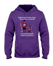 Hockey-Behind-Hockey-Player-Believes-In-Himself Hooded Sweatshirt tile