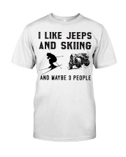 I-like-jeeps-and-skiing-and-maybe-3-people Premium Fit Mens Tee tile