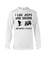 I-like-jeeps-and-skiing-and-maybe-3-people Long Sleeve Tee tile