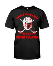 Hockey-Dont-Be-Scared-Im-Just-Hockey-Player Premium Fit Mens Tee tile