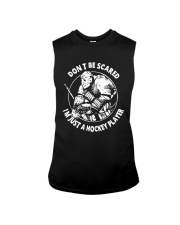 Hockey-Dont-Scared-Im-Just-A-Hockey-Player Sleeveless Tee tile
