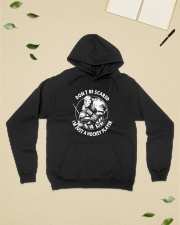 Hockey-Dont-Scared-Im-Just-A-Hockey-Player Hooded Sweatshirt lifestyle-unisex-hoodie-front-6