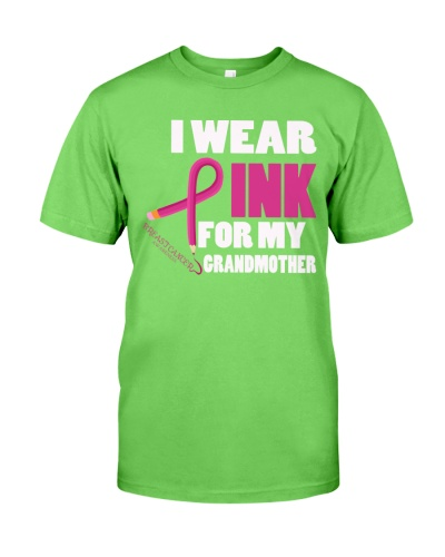 I-Wear-Pink-For-My-Grandmother