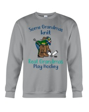 Some-Grandmas-knit-Real-Grandmas-Play-Hockey Crewneck Sweatshirt tile