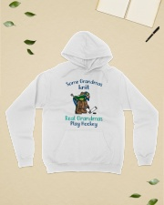 Some-Grandmas-knit-Real-Grandmas-Play-Hockey Hooded Sweatshirt lifestyle-unisex-hoodie-front-6
