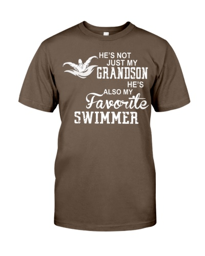 Swimming-Grandson