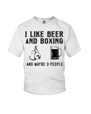 i-like-beer-and-boxing-and-maybe-3-people Youth T-Shirt tile