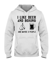 i-like-beer-and-boxing-and-maybe-3-people Hooded Sweatshirt tile