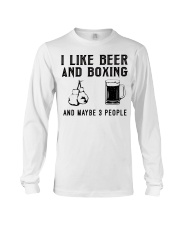 i-like-beer-and-boxing-and-maybe-3-people Long Sleeve Tee tile