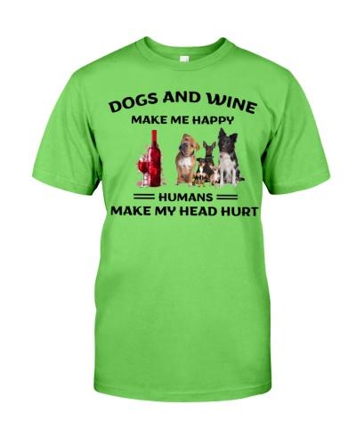 Dogs-Wine