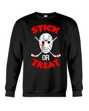 Hockey-Stick-Or-Treat2 Crewneck Sweatshirt tile