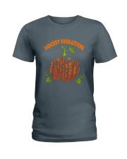Hockey-Evolution Ladies T-Shirt tile