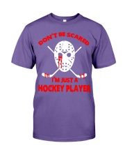 Hockey-Dont-Be-Scare-Im-Just-Hockey-Player Premium Fit Mens Tee tile