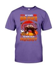 Hockey-My-Knife-Broke-Play-Hockey Premium Fit Mens Tee tile