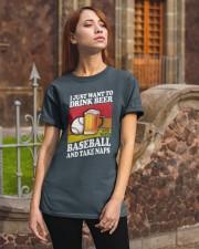 Baseball-Drink-Beer Classic T-Shirt apparel-classic-tshirt-lifestyle-06