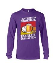Baseball-Drink-Beer Long Sleeve Tee tile