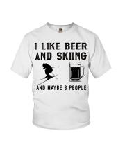 I-like-beer-and-skiing-and-maybe-3-people Youth T-Shirt tile