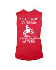 Motocross-He-is-Racing-Imaginary Sleeveless Tee tile
