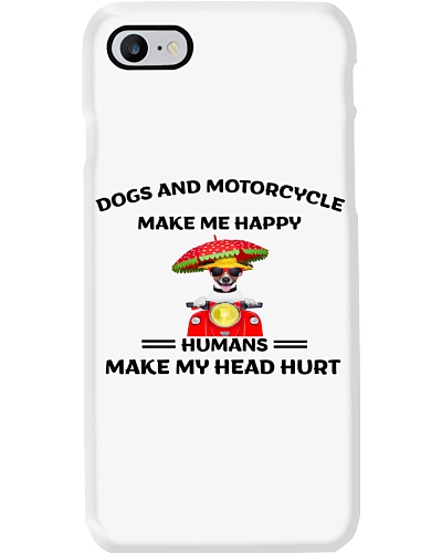 Dogs-Motorcycle