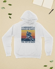 Hockey-make-me-happy-you-not-so-much Hooded Sweatshirt lifestyle-unisex-hoodie-front-6