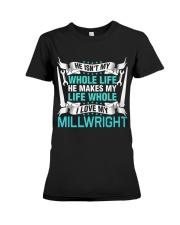 I Love My Millwright Premium Fit Ladies Tee thumbnail